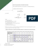 Cálculo de Transportadores de Tornillos Horizontales