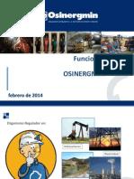 Funciones Osinergmin CEU 2014