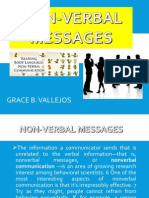 Non Verbal Messages