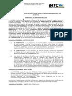 CONTRATO de SERVICIO Entre Ministerio y Estudio de Abogados