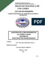 Informe Practicas PreProfesionales - C.S. Pueblo Joven Imprir 8