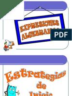 expresiones algebraicas jornada