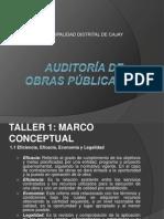 auditora de obras publicas