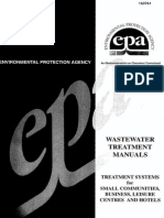Water Treatment Manual Design