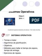 Semana4a Sistemas Operativos 2014 I