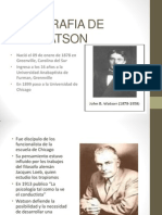 Biografia de Watson