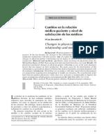 Relacion Medico-paciente y Satisfaccion de Medicos