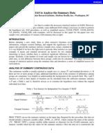SAS document