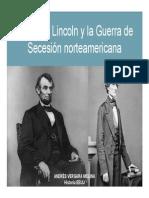 Unidad 6 Guerra de Secesión - Andrés Vergara Molina