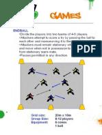 RUBGY SMALL GAMES - Games Endball