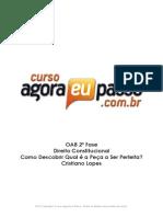 PDF AEP OAB2aFase ComoDescobrirQualaPecaaSerFeita CristianoLopes