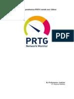 Tutorial Pembuatan PRTG Untuk User