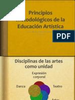 Principios Metodológicos de La Eduacion Artistica