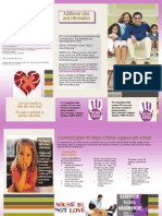 support brochure