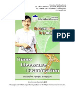 Nurse Licensure Examination (NLE)