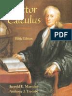 Vector Calculus Marsden