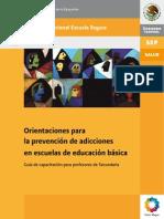 Basica.sep.Gob.mx Escuelasegura PDF Adicciones Guiaorientaciones