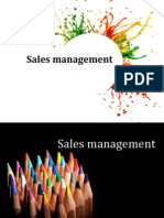 Sales Management introduction