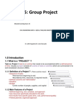 UNIT 5-Group Project-Lecture Note