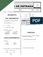 Examen de Entrada - Primaria (1)