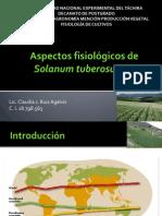 Aspectos Fisiológicos de Solanum Tuberosum L
