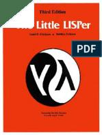 The Little LISPer 3rd Edition