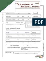SEBS Student Registration