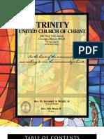 Trinity United Church of Christ Bulletin Feb 25 2007