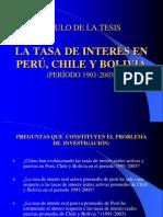 Exposición de Defensa de Tesis en PowerPoint
