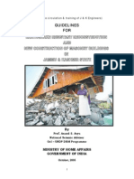 Guidelines for Home Design in Earthquake Prone Area