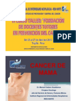 Prevencion Del Cancer Mama
