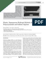 Elastic, Superporous Hydrogel Hybrids