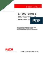 EI 500 User Manual
