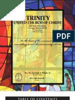 Trinity United Church of Christ Bulletin Mar 18 2007