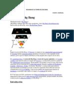 Resumen de La Teoría Del Big Bang