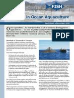 Disasters in Ocean Aquaculture