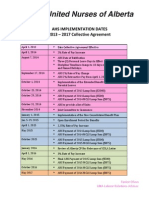 AHS Implementation Dates - 121 Educational July 2014