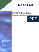 Netgear GS752TXS User Manual