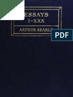 Arthur Searle-essays (118)