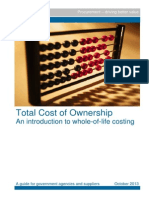 Total Cost Ownership