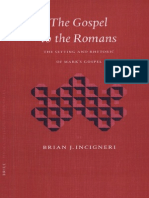Brian J. Incigneri, The Gospel to the Romans, The