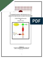 Understanding the Physics of a Quantum Mechanical Heat Exchanger