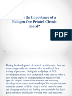 What is the Importance of a Halogen-free Printed Circuit Board?