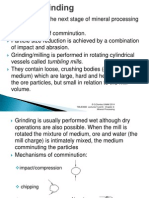 Comminution in Mineral Processing