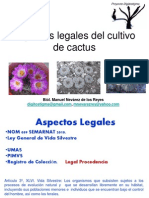 Aspecto Legal Cultivo Cactus