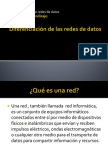Diferenciación de Las Redes de Datos
