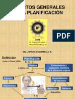 Aspectos Generales de Planificacion