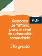 Sesiones 5 Grado