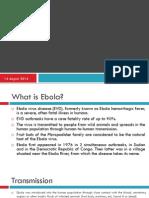 Ebola Presentation PC
