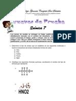 Jueves de Prueba Química 7